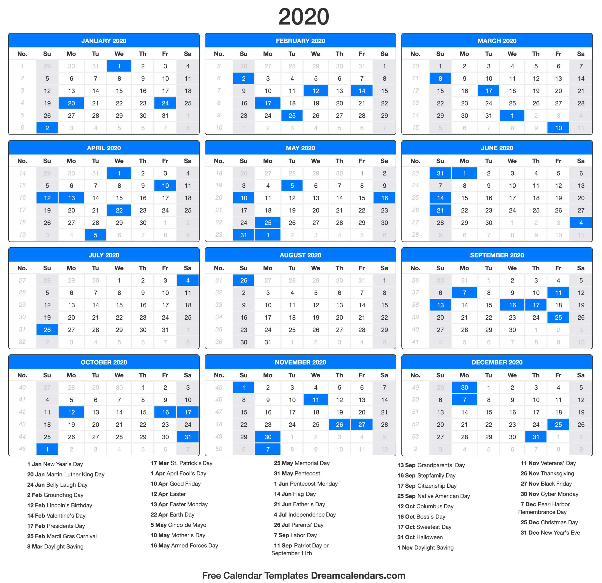 Free Printable 2021 Calendar With Holidays Trinidad And ...