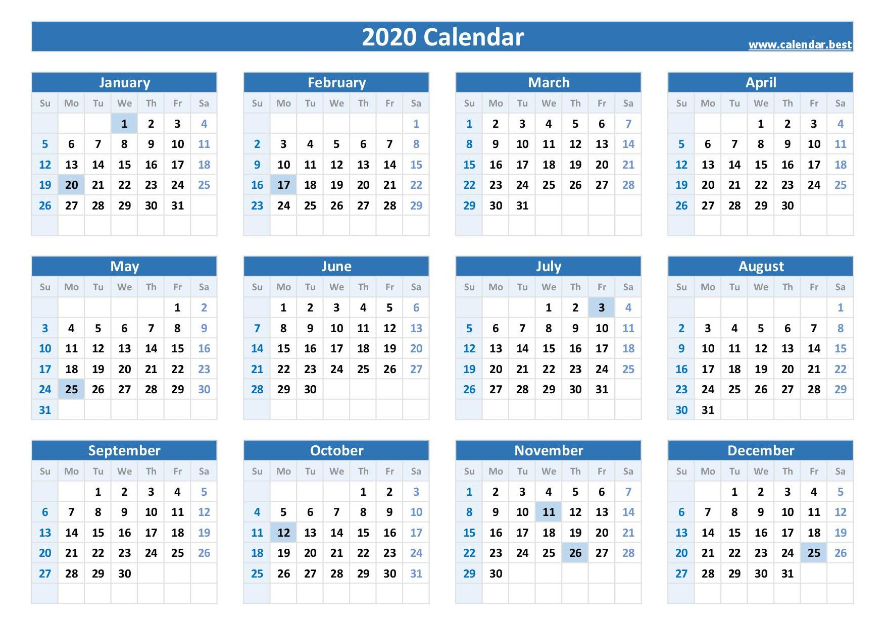 2020, 2021, 2022 Federal Holidays : List And Calendars
