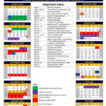 2020-2021 Academic Calendar - A Private, Nonprofit Lower And