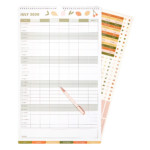 2020/2021 Family Wall Calendar Small: Living Well (Outlet)