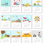 2021 Adorable Owl Monthly Calendars Instant Download | Etsy