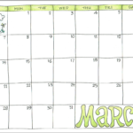 2021 Calendars For Advanced Planning - Flanders Family Homelife