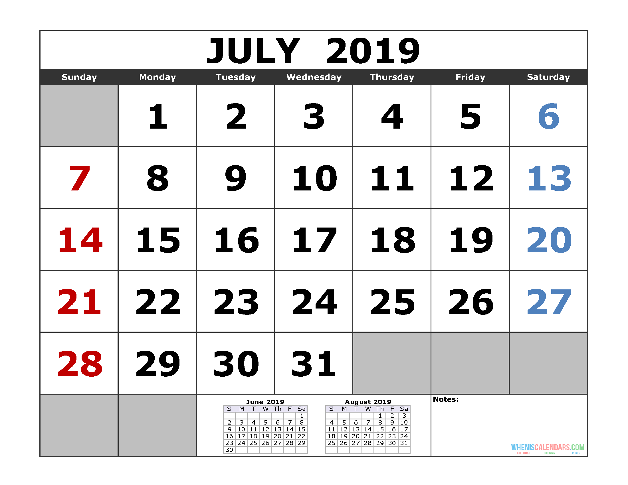 4 Month May June July August Calendar - 2020 And 2021