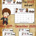 April 2019 Update: Here's The New 2019 & 2020 Monthly