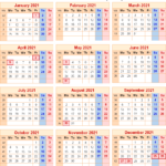 Calendar 2021 Uk With Bank Holidays & Excel/pdf/word Templates