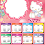 Calendario 2020 Hello Kitty - Calendario 2019