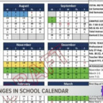 Ccisd Discusses Calendar Changes For 2020-2021 School Year