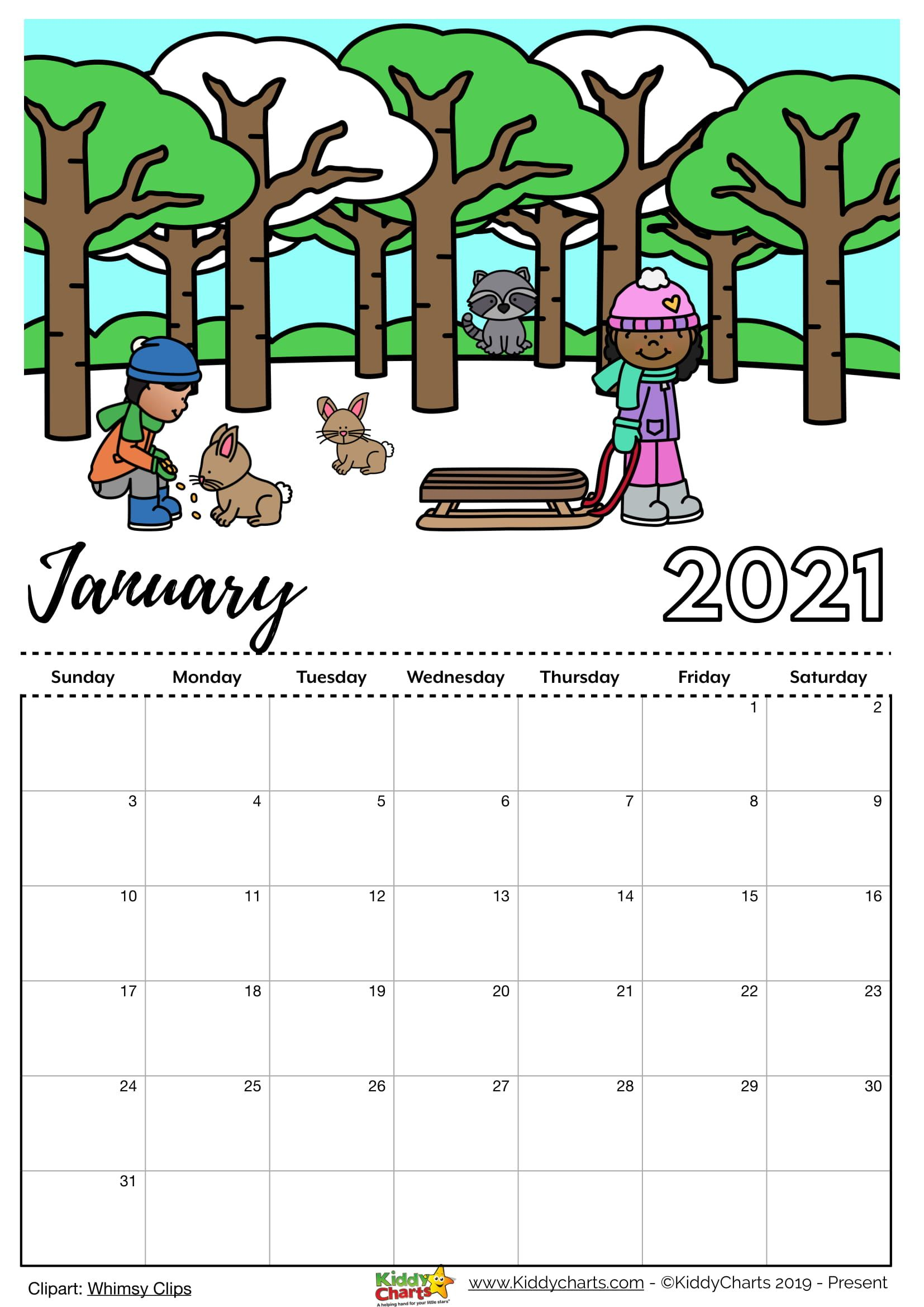 Check Our New Free Printable 2021 Calendar! In 2020