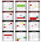 Coffee County School System: 2020-2021 School Calendar