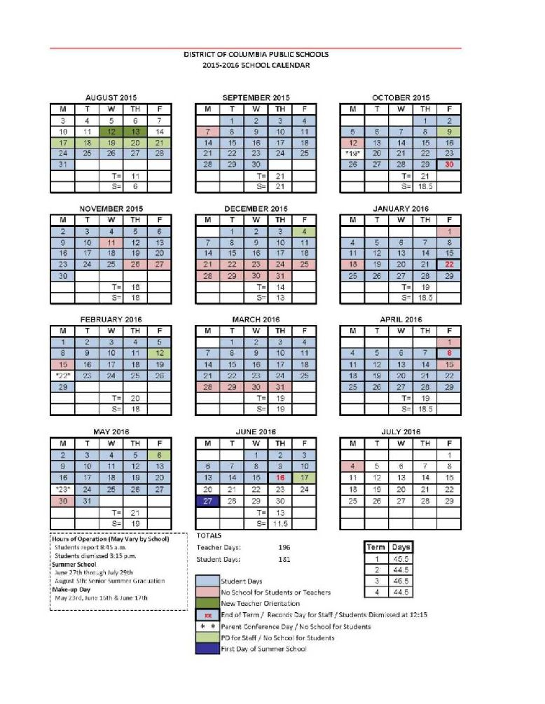 Dcps 2022 2023 Calendar.D C P S S C H O O L C A L E N D A R 2 0 2 1 2 2 Zonealarm Results