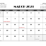 Free March 2021 Calendar Canada Printable In 2020 | Calendar