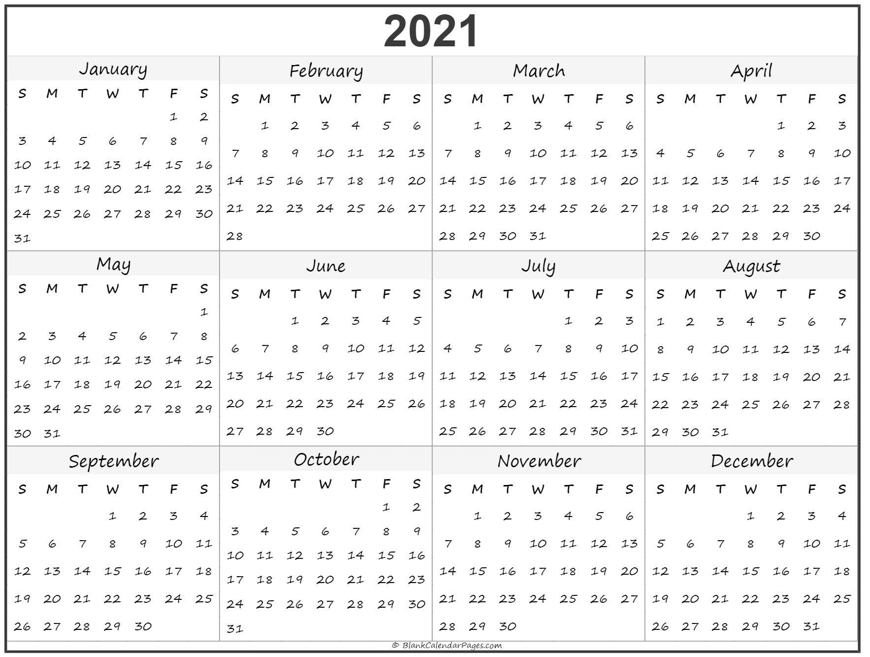 Free Printable Calendar 2021 Uk Blank For Free – Encouraged