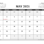 Free Printable May 2021 Calendar Australia In 2020
