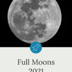 Full Moon Calendar 2021, 12 Full Moons | Fullmoonology