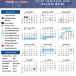 Hse Academic Calendar – Harmony School Of Excellence – Houston