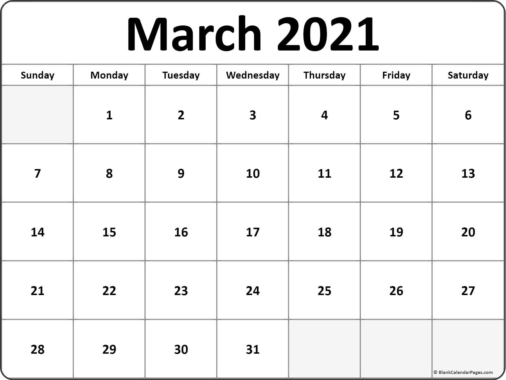 January February March April 2021 Calendar In 2020 | Weekly