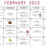 June 2019 National Food Day Calendar – Template Calendar
