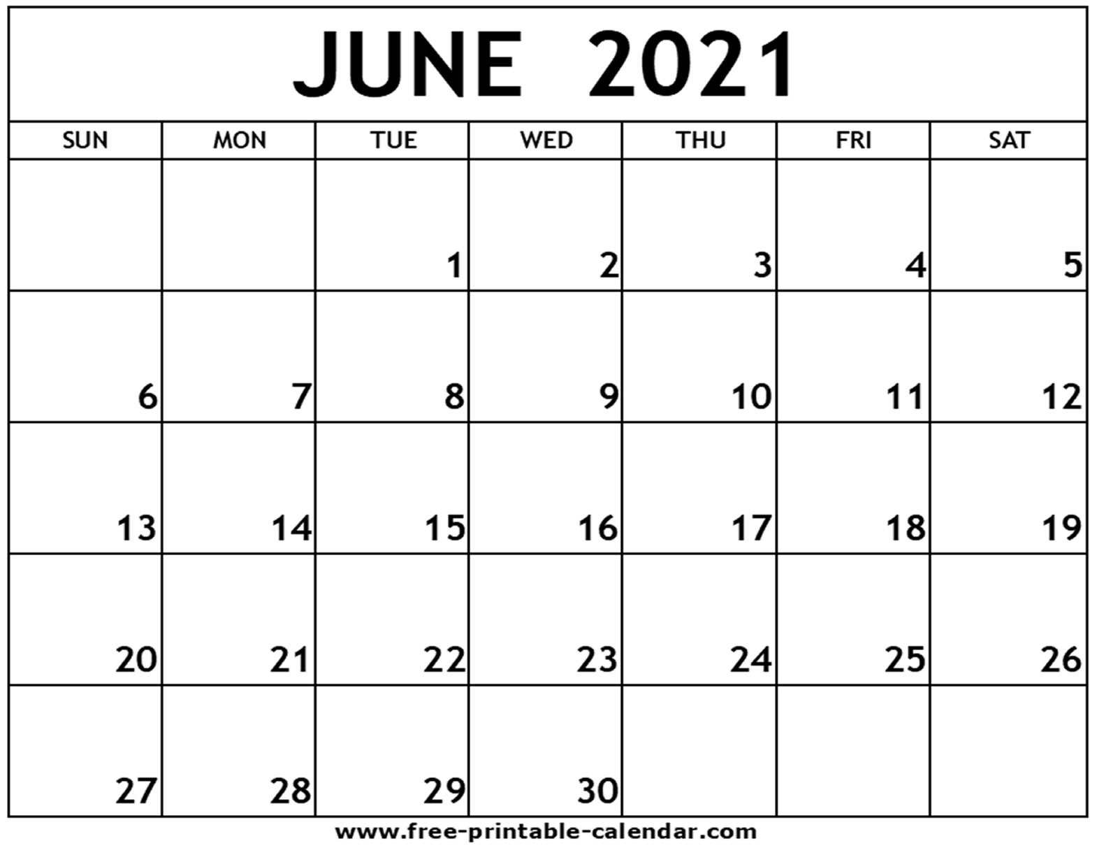 Calendar July 2021 To June 2021 Printable | Free 2021 ...