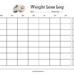Lovely Weight Loss Countdown Calendar Printable | Free