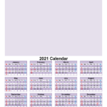 Make Your Own Photo Calendar Free 2021 – Template No.f21Y33