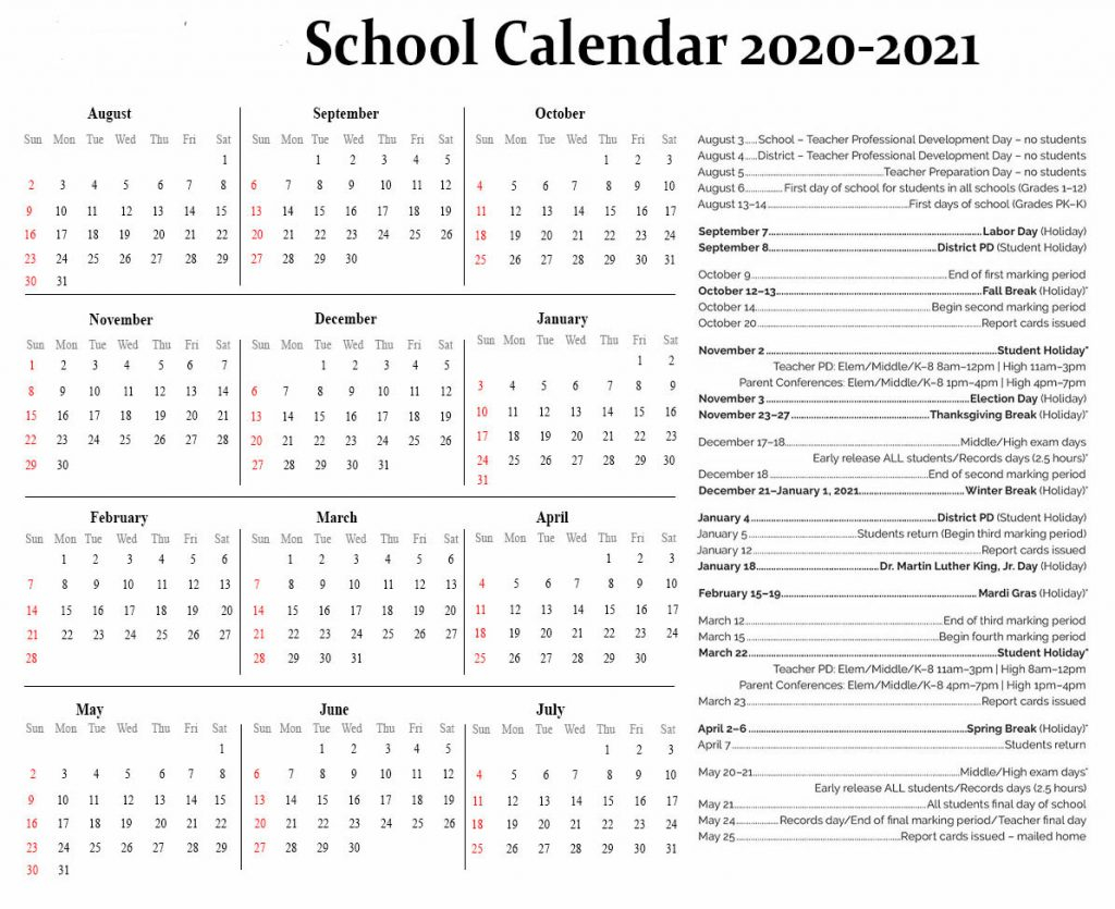 Nyc School Holidays 2020-2021 | Nyc School Calendar