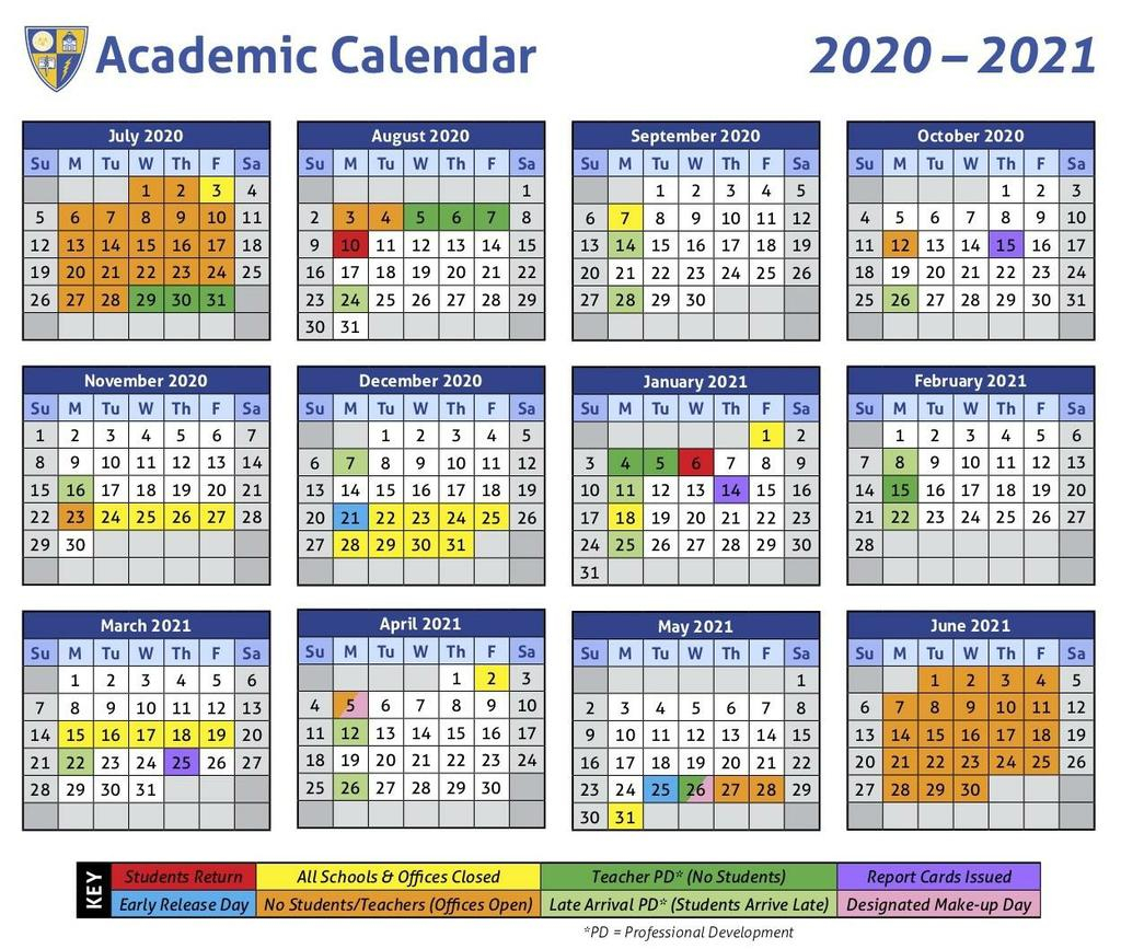 Oxford School District Approves 2020-2021 Academic Calendar
