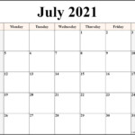 Print Free Monthly Calendar 2021 For Nice Class – Allowed To