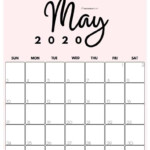 Printable 2021 Calendarmonth In 3 Cute Colors