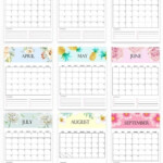 Printable Calendar 2021 January 2021 December 2021 | Etsy In