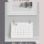 Rae Dunn Inspiration 2020-2021 Printable Desk Calendar