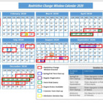 Rcw Calendar 2020 - Information Technology - University Of