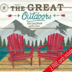 The Great Outdoors 2021 Wall Calendar