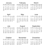 2021 Calendar Printable 00 In 2020 | Calendar Printables