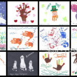 Gift Given: Kid's Handprint Calendar | Calendar Craft