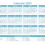 Mini Desk Calendar 2021 Free Printable – Free 2020 And 2021