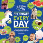 2021 Official Celebrate Every Day® National Day Wall Calendar