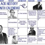 Black History Month Calendar – The Wilson Beacon