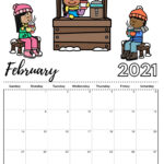 Check Our New Free Printable 2021 Calendar! In 2020   Kids