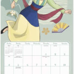Disney Princess New Monthly Wall Calendar 2021 - Youloveit