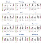 Free Free Download 2021 Calendar With Week Numbers