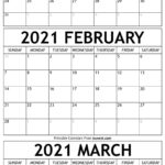 January To March Calendar 2021 Templates - Time Management