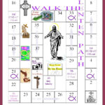 New Printable Lent Calendar | Free Printable Calendar Monthly