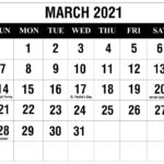 Printable Calendar 2021 February March April In 2020 | Free