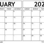 February March 2021 Calendar Templates - Time Management