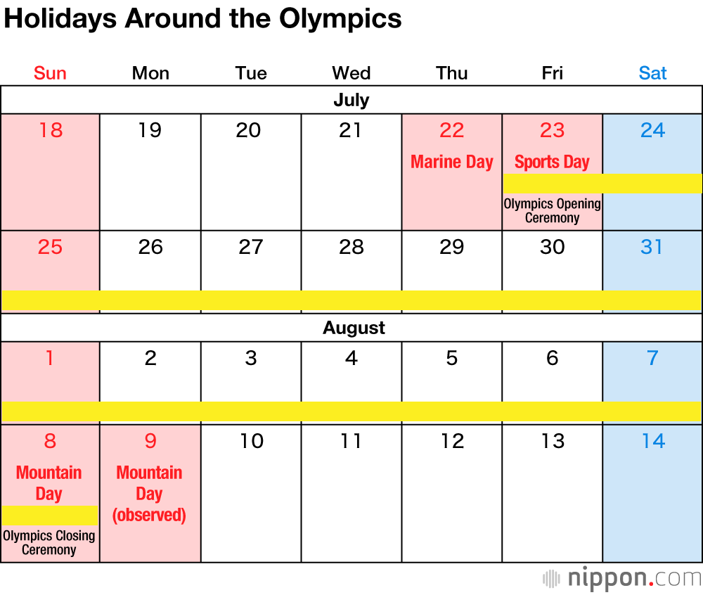 Japan's National Holidays In 2021 | Nippon