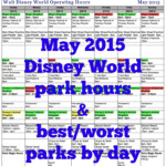 May 2021 Disney World Crowd Calendar | Disney World, Disney