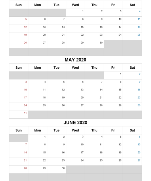 Effective Printable 3 Month Calendar Get Your Calendar
