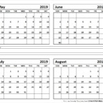 Month Of June And July Blank Calendar Example Calendar