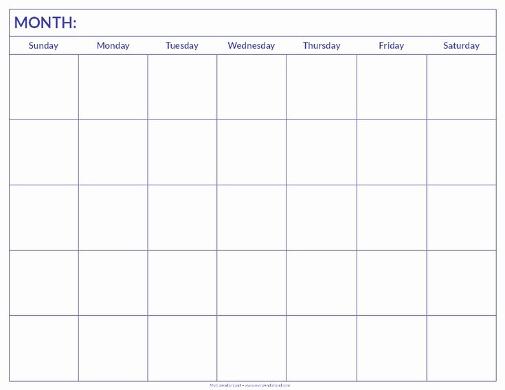 New 50 Examples Blank Calendar Print Out Blank Blank