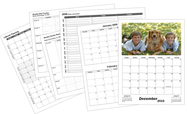 Make Your Own Printable Calendars CalendarsQuick Lets You